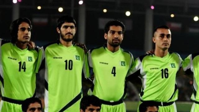 Bóng đá Pakistan biến mất trên bản đồ FIFA