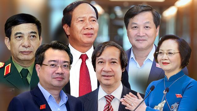 Chính thức phê chuẩn tân Phó Thủ tướng Lê Minh Khái, Lê Văn Thành, Bộ trưởng Quốc phòng Phan Văn Giang