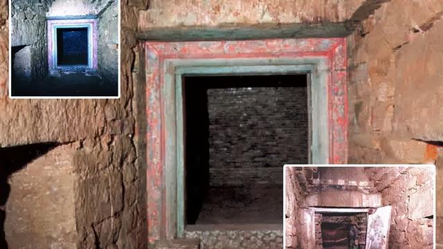 Trộm mộ hả hê vì cướp được lăng mộ hoàng gia giá trị, ngờ đâu chính chúng mới bị lừa!