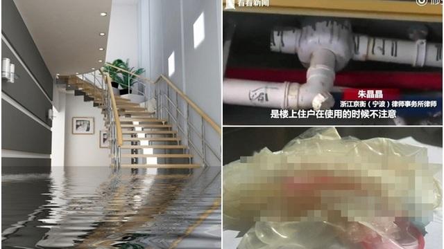 """Đường ống bị tắc khiến căn nhà bị biến thành """"hố phân"""", chủ nhà không khỏi choáng váng khi thợ sửa chữa lôi ra thứ kinh khủng này"""
