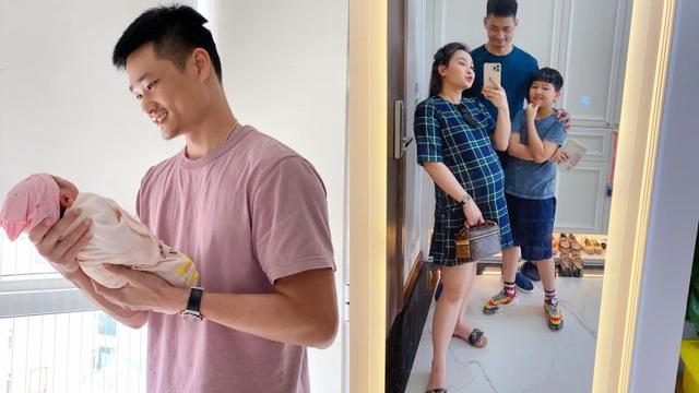 """Diễn viên Bảo Thanh """"Về nhà đi con"""" hạ sinh con gái, nhiều sao Việt gửi lời chúc mừng"""