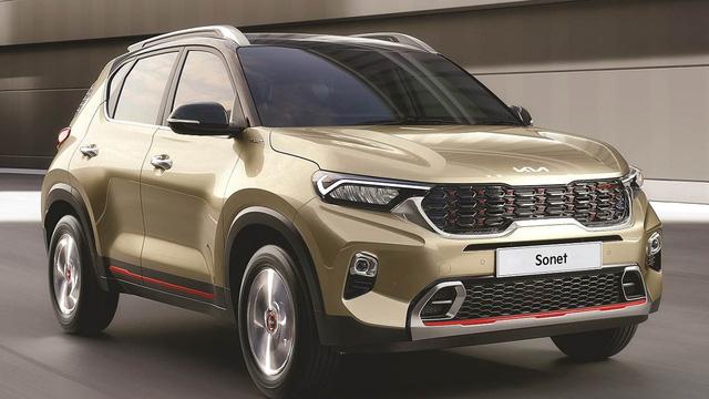 Kia Sonet được nâng cấp với nhiều tính năng mới, giá từ 217 triệu đồng