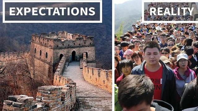 Vạn Lý Trường Thành và thực tế không như mơ: Kỳ quan vĩ đại của Trung Quốc kín đặc hàng chục ngàn người dịp lễ Quốc tế Lao động