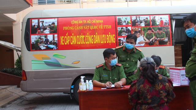 Tạm ngưng cấp CCCD lưu động để phòng chống dịch bệnh Covid-19 ở Sài Gòn