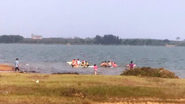 Hai học sinh chết đuối thương tâm ở hồ Trị An