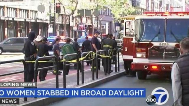 Hai phụ nữ gốc Á bị tấn công bằng dao tại San Francisco (Mỹ)