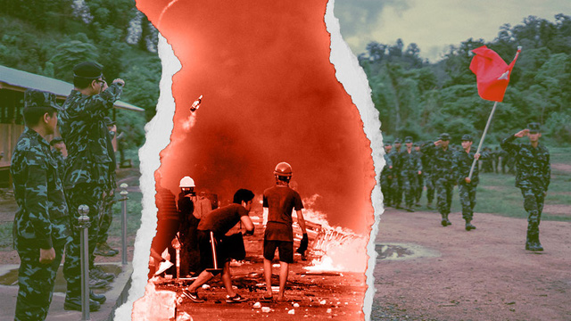"""Dấu hiệu Myanmar sắp bước vào """"nội chiến toàn diện"""""""