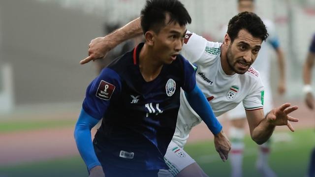 ĐT Campuchia thảm bại 0-10, tiếp tục phá sâu kỷ lục buồn tại vòng loại World Cup