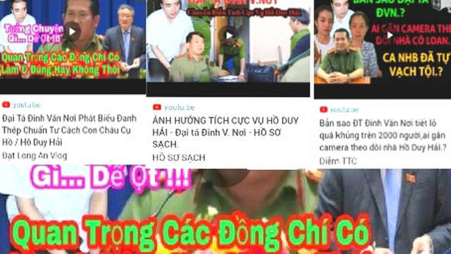 Bị ghép giọng can thiệp vụ án Hồ Duy Hải, đại tá Đinh Văn Nơi nói gì ?