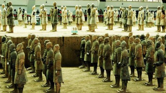 Vén màn bí mật 4 quốc bảo 'thượng thần' trong lăng Tần Thủy Hoàng sánh ngang đội quân đất nung