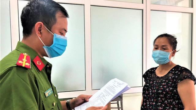 """Khởi tố một thai phụ """"vẽ"""" dự án, bán đất khu vực đền thờ Mẫu Tam Giang Thánh Điện"""