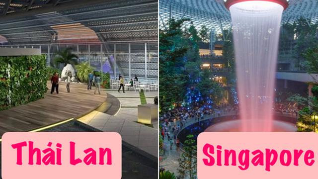 Tranh thủ ''vắng khách'' du lịch - Thái Lan âm thầm cải tạo sân bay Bangkok đẹp đến choáng ngợp, tuyên bố sánh ngang với Singapore!