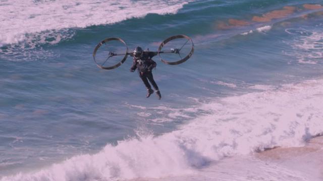 Ấn tượng với video thử nghiệm thiết bị bay sử dụng hai cánh quạt khổng lồ