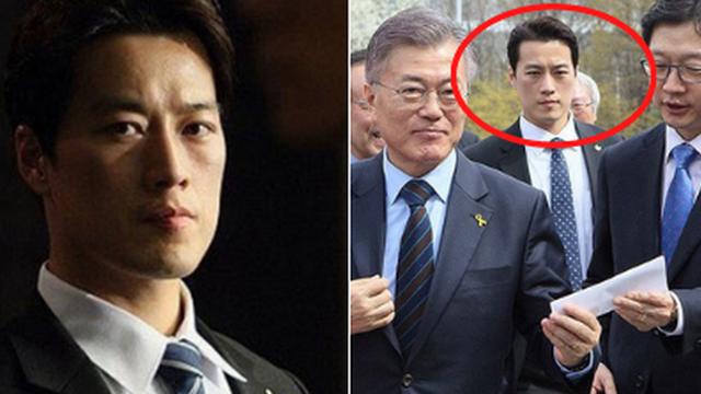 Vệ sĩ đẹp như tài tử của Tổng thống Hàn: Từng phải xin nghỉ việc vì đi đến đâu cũng làm ''điên đảo'', gây bất ngờ với cuộc sống hiện tại bên vợ con
