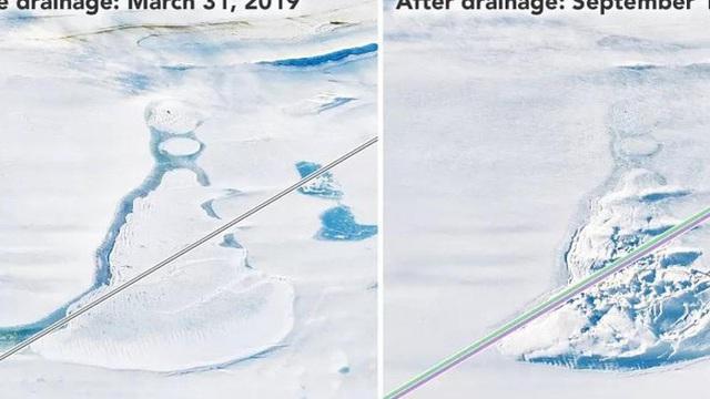 Phát hiện những hồ nước bí ẩn chứa 'đá quý' dưới lớp băng Nam Cực
