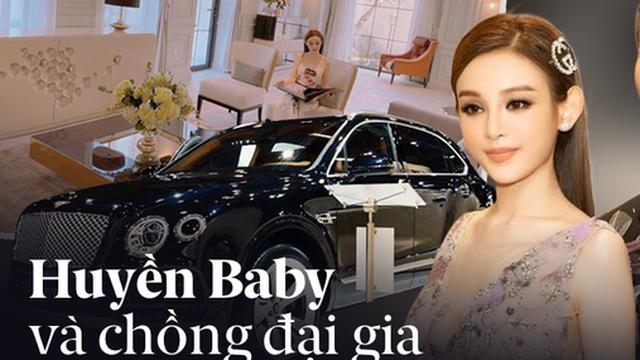 """Sống như bà hoàng trong """"lâu đài"""" hơn 80 tỷ đồng, Huyền Baby giàu cỡ nào?"""