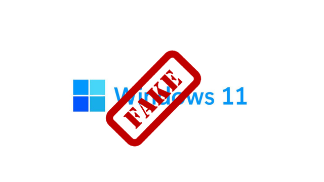 Cảnh giác: Phiên bản Windows 11 giả mạo dưới đây có thể phá huỷ máy tính của bạn