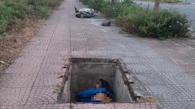 Hà Nội: Sáng sớm đi tập thể dục phát hiện người đàn ông tử vong dưới hố ga