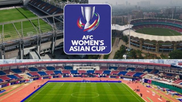 AFC công bố địa điểm thi đấu mới của VCK Asian Cup nữ 2022