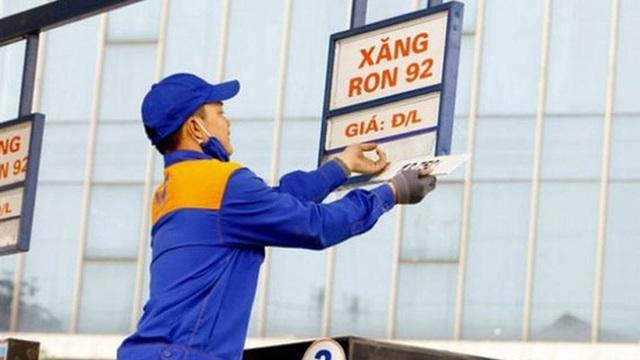 Thông tin chính thức về việc điều chỉnh giá xăng dầu từ 15h chiều nay