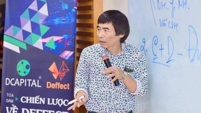 Tiền ảo được TS Lê Thẩm Dương quảng bá có gì nguy hiểm?