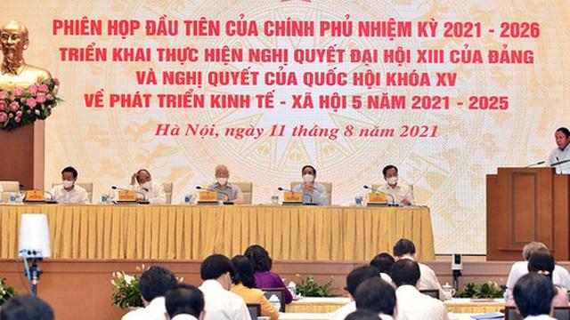 Chính phủ khóa XV họp phiên đầu tiên: Bộ trưởng Nguyễn Văn Hùng đề xuất cần phải nhận thức đúng và hành động đẹp