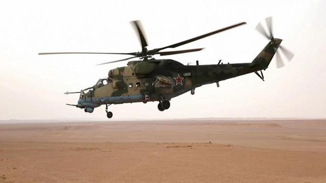 Video: Trầm trồ với khả năng lái trực thăng của quân nhân Syria