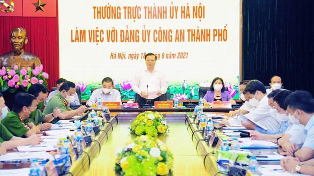 Xây dựng tổ chức Đảng trong Công an Thủ đô trong sạch, vững mạnh về mọi mặt
