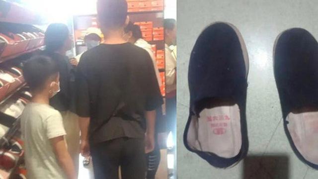 Đưa các con đi mua ''bộ đồ Nike đầu tiên trong đời'', vợ chồng lao động nghèo sốc nặng trước thái độ của nữ nhân viên