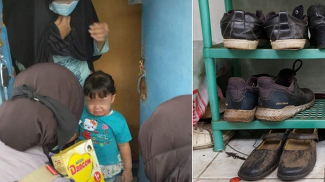 Trắng tay vì tai nạn đúng mùa Covid-19, bố trẻ xin đổi giày để lấy sữa cho con gái 1 tuổi và cái kết ấm lòng