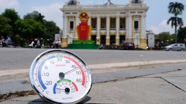 Bắc Bộ nắng nóng gay gắt đạt đỉnh vào ngày mai