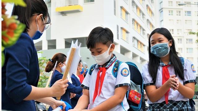 Thời gian tựu trường sớm nhất là ngày 1/9, riêng HS lớp 1 có thể đến trường từ 23/8