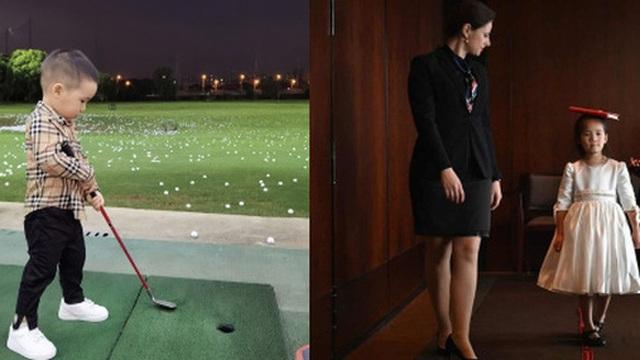 Lớp học ''CEO nhí'' dành cho con nhà giàu xứ Trung: 3 tuổi học đánh golf, tập ký hợp đồng giá trị, cư xử như một quý tộc Anh