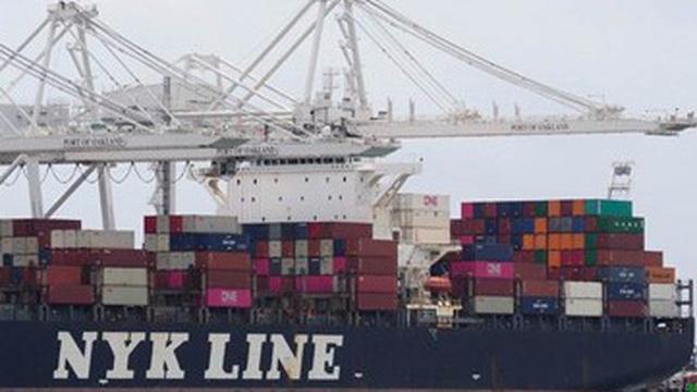 Thâm hụt thương mại Mỹ tăng kỷ lục