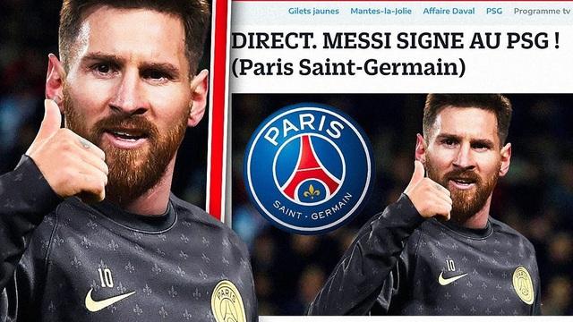 Messi đến PSG: Vì ta cần nhau