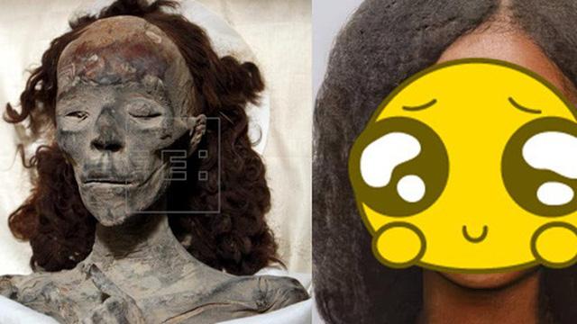 """Tái hiện gương mặt xác ướp """"quý bà nghìn tuổi"""", các nhà khoa học khiến dân mạng sửng sốt về vẻ đẹp phụ nữ xưa, hiện thực có đúng như vậy?"""