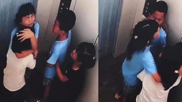 4 đứa trẻ bị mắc kẹt trong thang máy rơi tự do từ tầng 8, bé gái có hành động khiến ai cũng rào rào vỗ tay tán thưởng