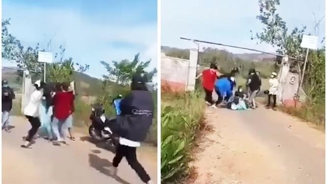 Quảng Nam: Xôn xao clip nữ sinh bị nhóm bạn dùng cây, mũ bảo hiểm đánh tới tấp