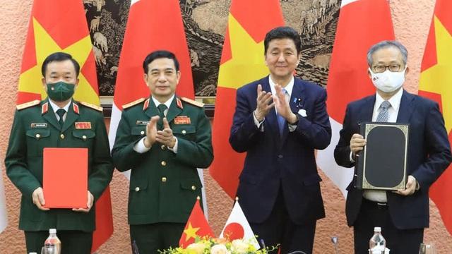 Quân đội Việt - Nhật chuyển giao thiết bị và công nghệ quốc phòng