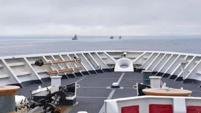 Thực hư nhóm tàu chiến Trung Quốc đến gần quần đảo Mỹ