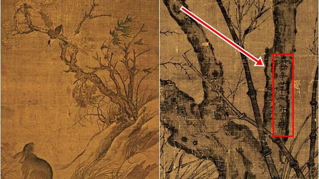 Phóng to bức họa mùa thu, thấy 8 chữ khắc trên thân cây, hậu thế truy ngay ra lai lịch bức tranh: Có 1 vụ bê bối chấn động Tống triều