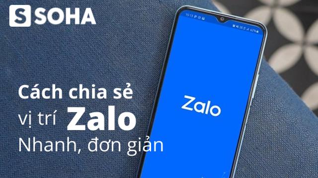 Cách chia sẻ vị trí trên Zalo iPhone, Android, máy tính cực dễ