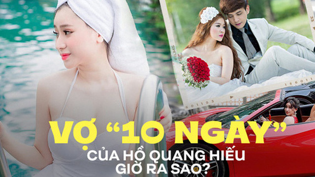 Vợ cũ từng tố Hồ Quang Hiếu ngoại tình, ly hôn sau 10 ngày đám cưới giờ sống ra sao?