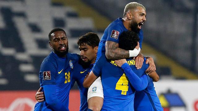 Hạ gục đối thủ khó chịu Chile, Brazil thống trị vòng loại World Cup 2022 với chuỗi 7 trận toàn thắng