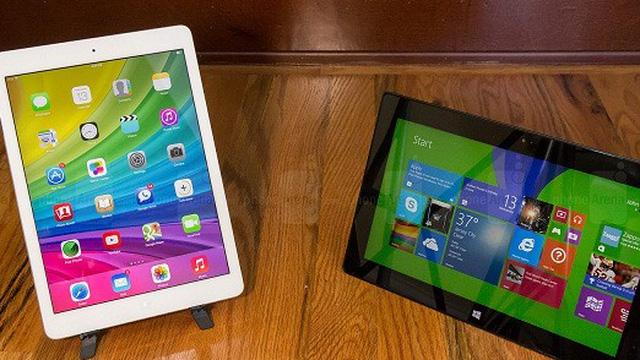 """iPad Air bị """"dìm hàng"""" trong clip mới của Microsoft"""