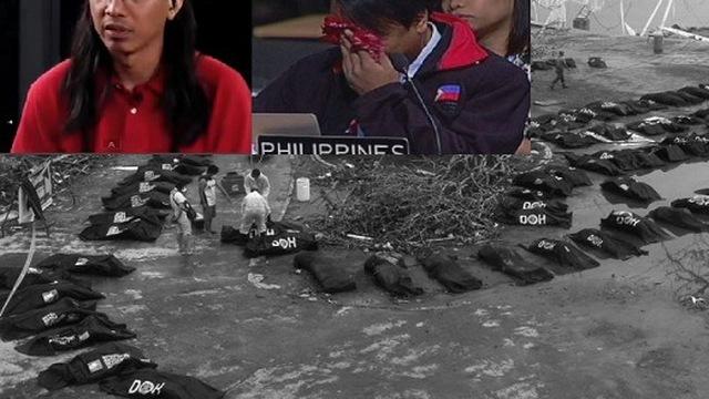 Nước mắt Philippines: Xin lỗi...tôi không thể chịu đựng thêm nữa!
