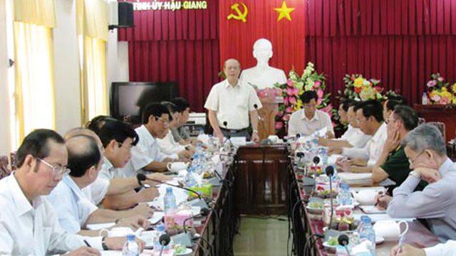 Hậu Giang: Phó Trưởng ban chỉ đạo PC tham nhũng bị kỷ luật Đảng