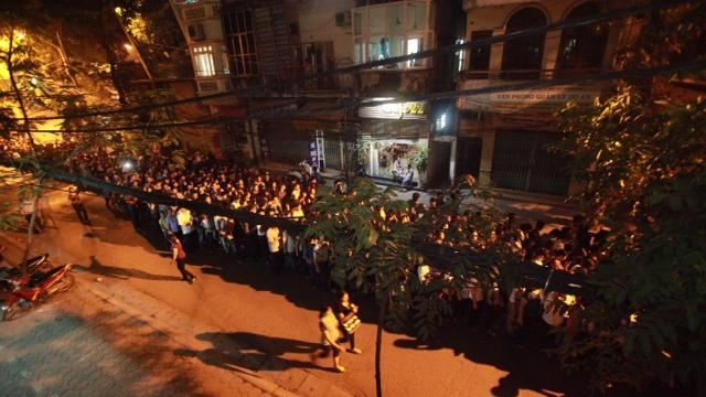 Lễ viếng Đại tướng chính thức khép lại lúc nửa đêm