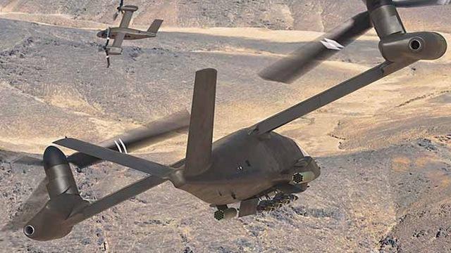 Trung Quốc lên cơn sốt trực thăng lưỡng thể của Mỹ