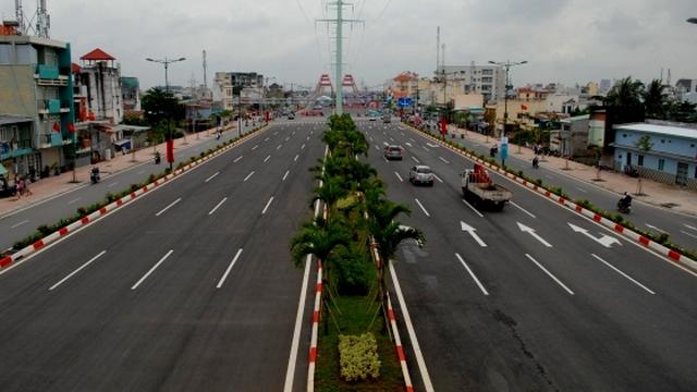 Thông xe tuyến đường nội đô rộng và đẹp nhất Sài Gòn